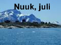 Inge in Nuuk, summer