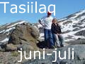 Tasiilaq, june - visits to Isortoq, Tiniteqilaaq, Sermiligaaq and Kummiut - and to the Tasiilaq Mountain Hut by Karale glacier
